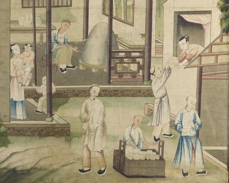 Papier peint chinois N°6 - Panneau décoratif