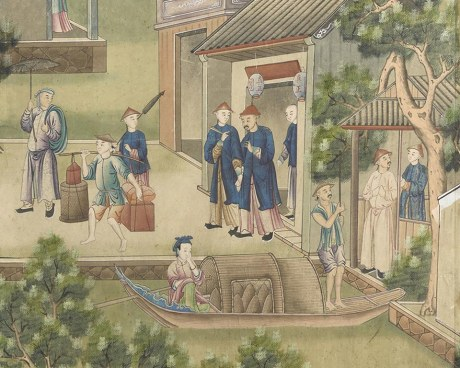 Papier peint chinois N°7 - Panneau décoratif