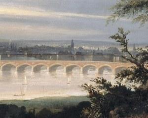 Vue de Bordeaux - Papier peint