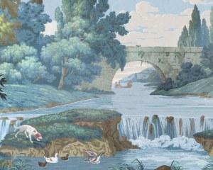 La campagne française - Papier peint