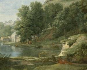 Paysage antique - Papier peint