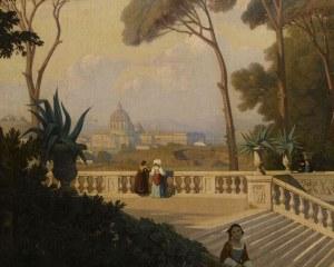 Vue de Rome - Papier peint