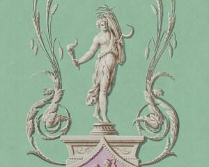 Les Quatre Saisons - Eté - Panneau décoratif