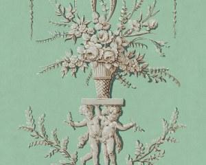Les Quatre Saisons - Hiver - Panneau décoratif