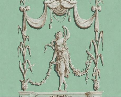 Les Quatre Saisons - Printemps - Panneau décoratif