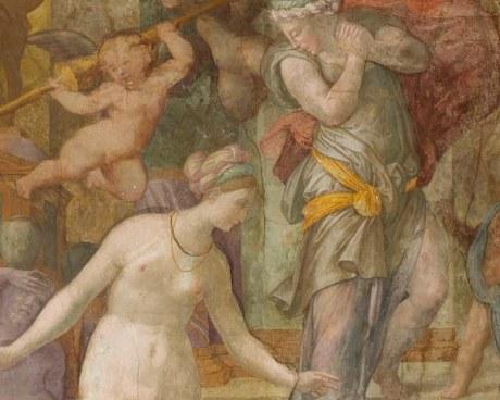 Fresque Renaissance 1/14- Papier peint