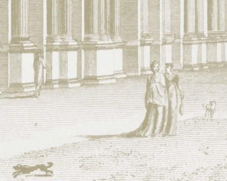 Gravure de Paris - Papier peint