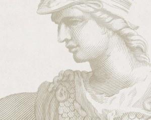 Statue antique - Papier peint
