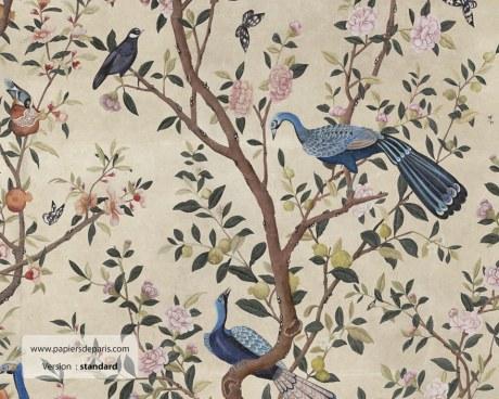 Chinoiserie 18eme - Papier peint